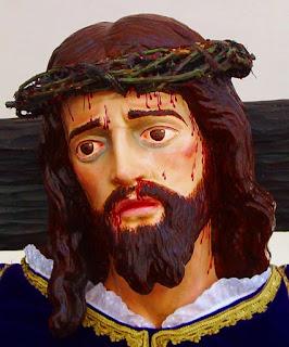 Jesús del Vía Crucis. Cofradía Agonía de Nuestro Señor. Foto G. Márquez.