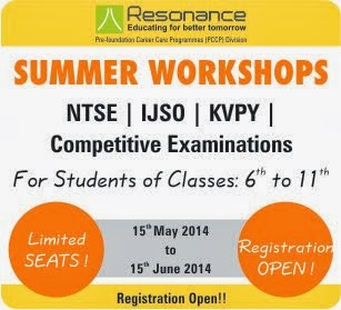 Summer Workshop 2014