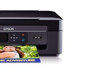 epson xp 310 will not print black