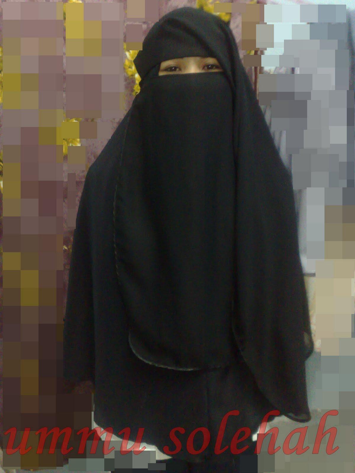 KedaiUmmuSolehah NeW NiqaB LabuH Dengan Trim SatiN