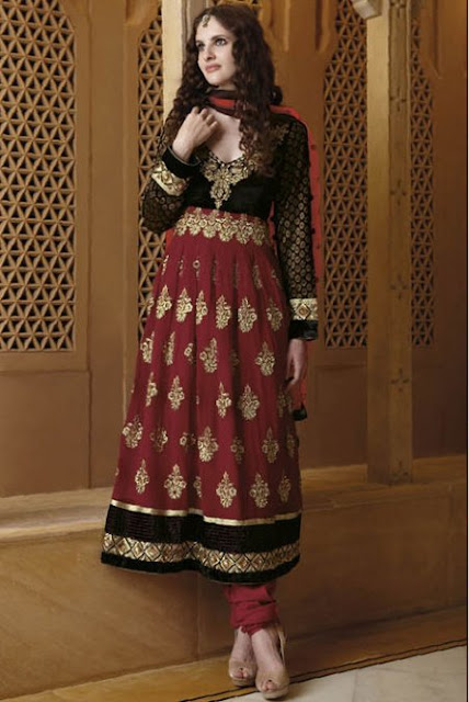 Latest Churidar Salwar Kameez
