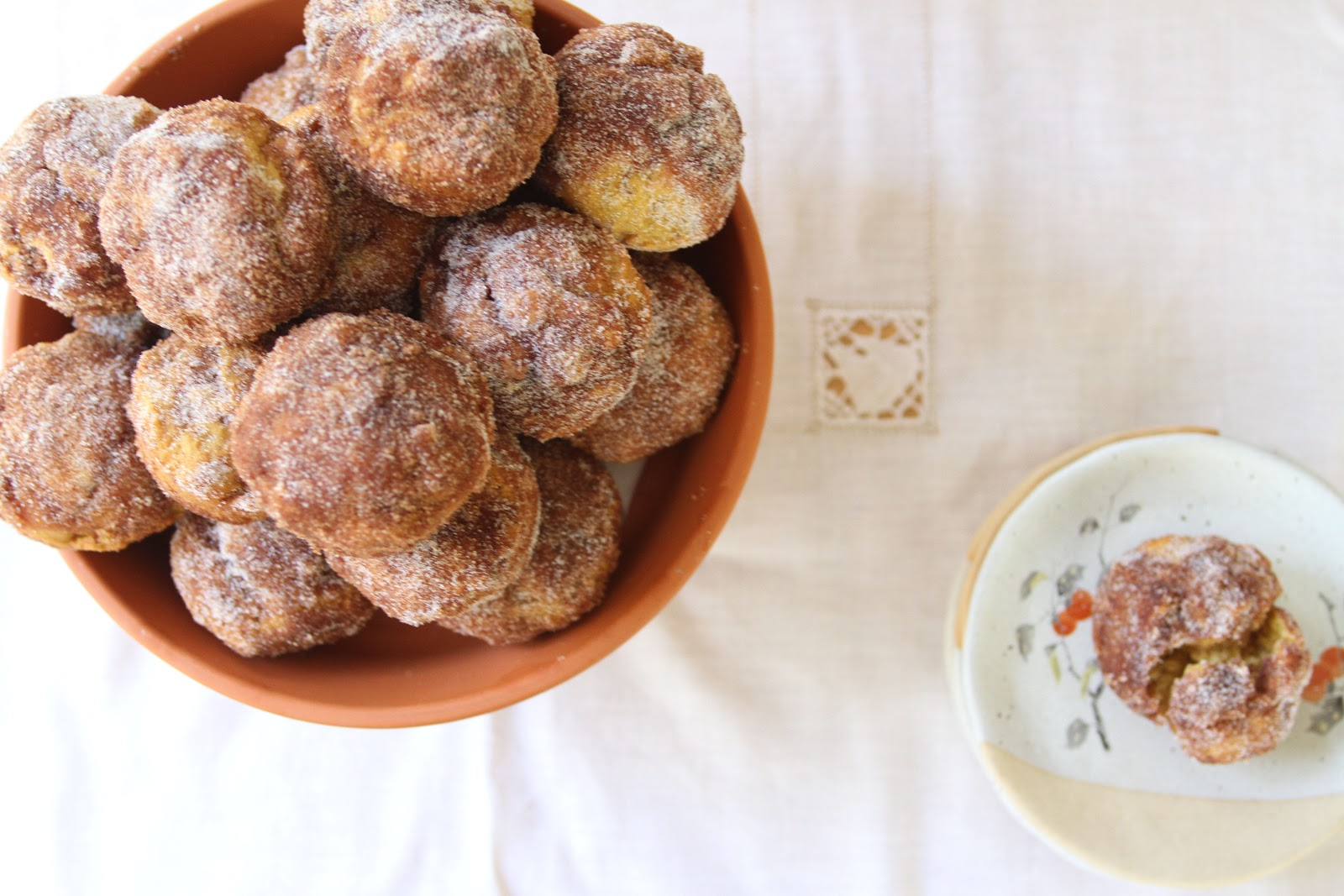 sweet tarte: pumpkin doughnut muffins