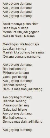Lyrik/Lirik lagu Cita-citata Goyang Dumang