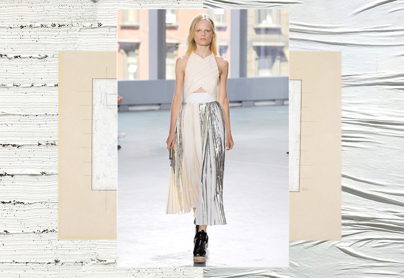 The more I admired the works of Sergio Rodrigues, Robert Ryman and Piero Manzoni that inspired Lazaro Hernandez and Jack McCollough, the more I loved their Proenza Schouler Spring/Summer  2014 collection.