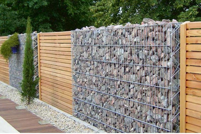 Stenen afsluitingen prijs steenkorven afsluitingen blog for Moderne afsluiting tuin