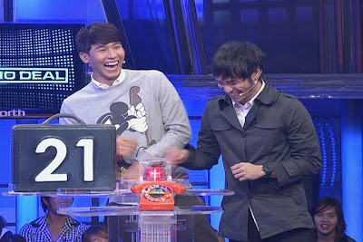 Enchong Dee and Kean Cipriano in Kapamilya Deal Or No Deal (August 18)