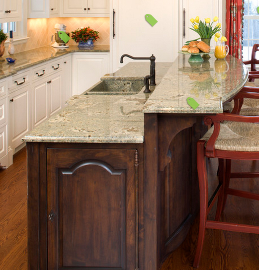 Kitchen Island With Raised Bar: OUR DREAM HOME IN NAPLES: KITCHEN