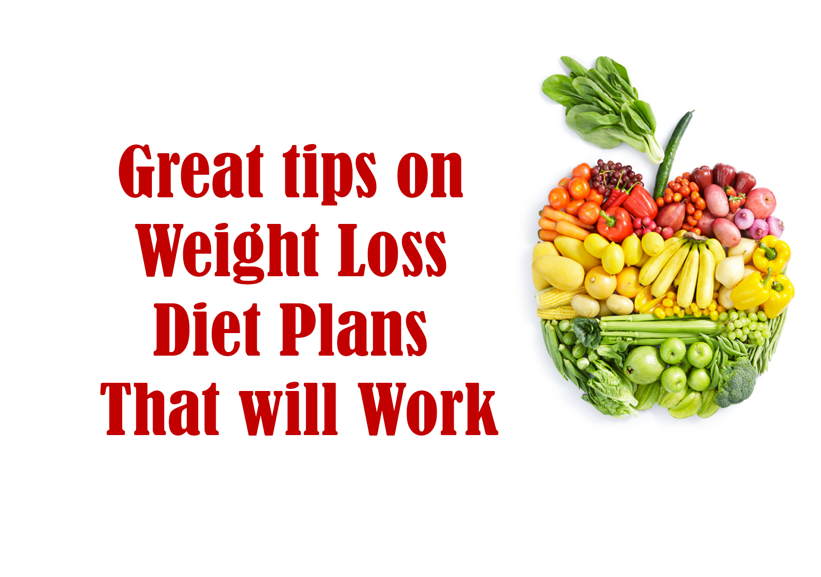 weight loss diet that works