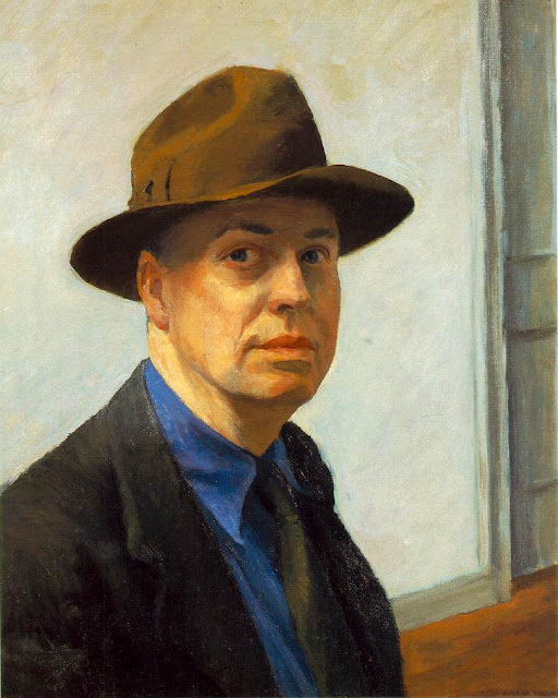 SelfPortrait. Edward Hopper