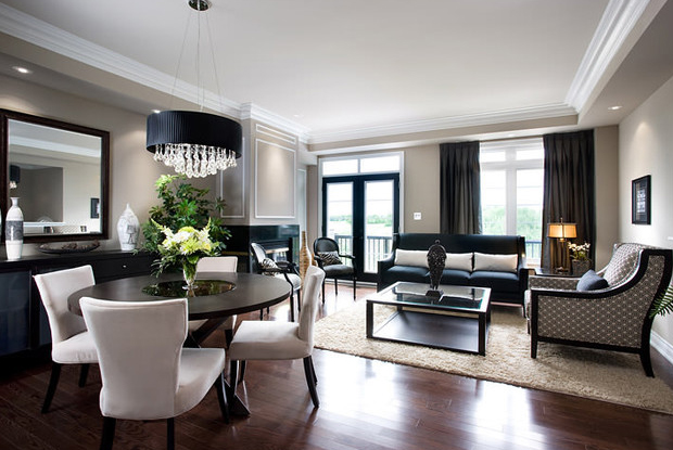 Modern Condo Living Room Design