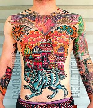 Significado das tatuagens de lobo