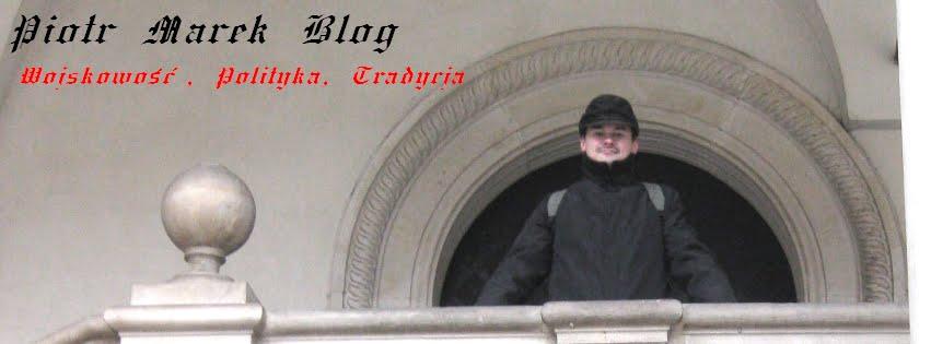Piotr Marek. Publicystyka polityczna i militarna.