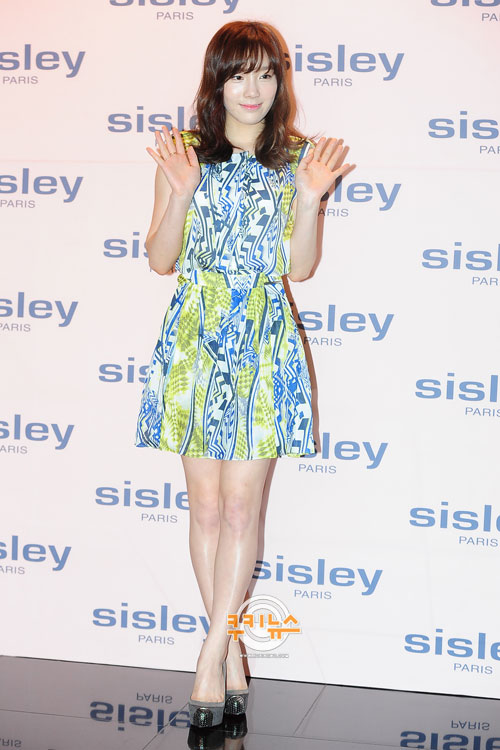 SNSD Taeyeon Photo at Sisley Paris Event 2012