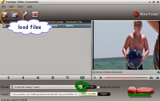 Convert Samsung NX1 H.265/HEVC Videos on VLC  Load-files