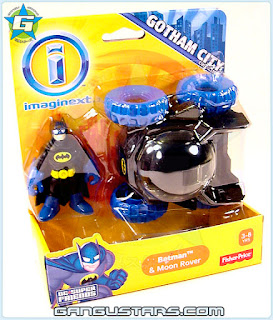 Toys R Us Gotham City exclusive Imaginext Batman Moon Rover 2014 toy DC Super Friends