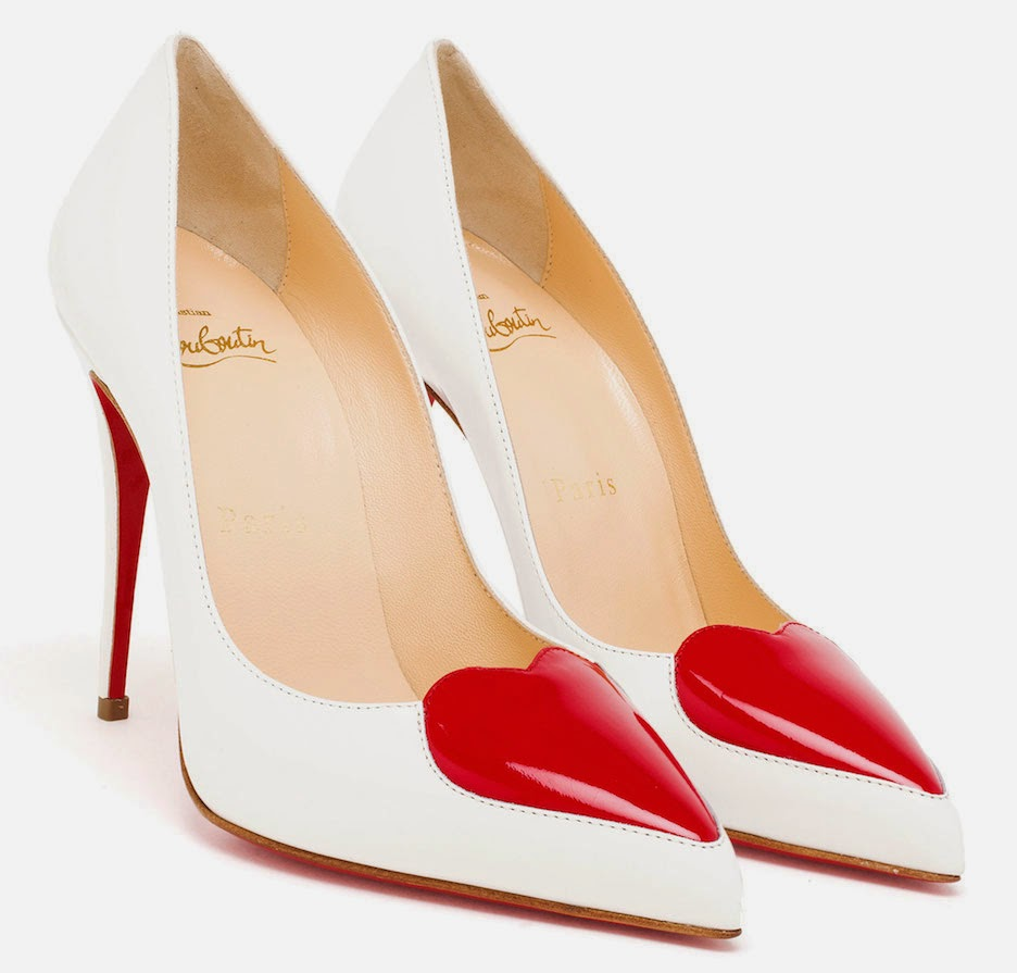 The Daily Bauble: Christian Louboutin Cora Heart Pumps | The ...