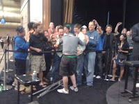 Hugs for Dominik Nitsche after winning Event No. 59 at the 2012 WSOP