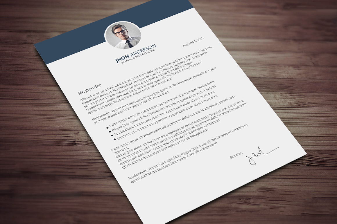 creative resume cv template with cover letter and portfolio free psd files graphic web