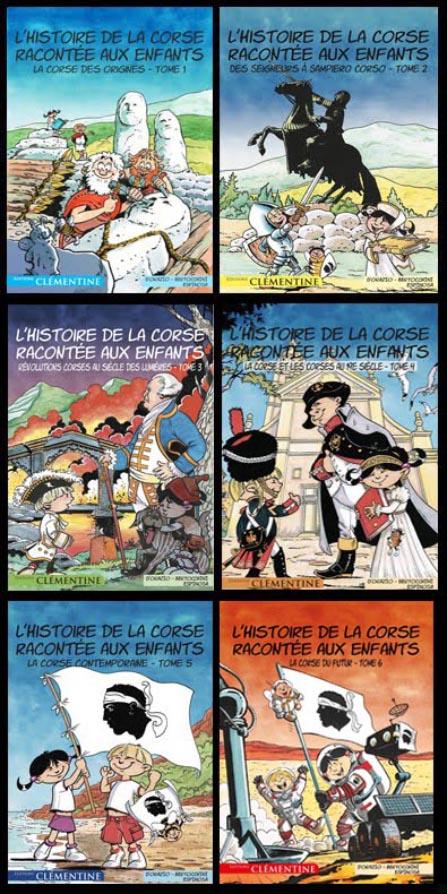 L'Histoire de la Corse racontée aux enfants (6 tomes)