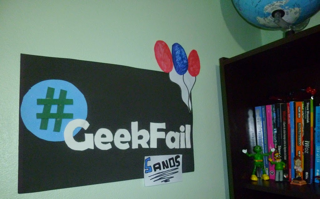 5 anos geek fail