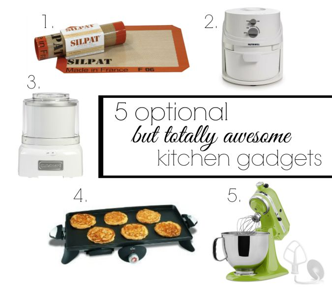 5 optional but awesome kitchen tools