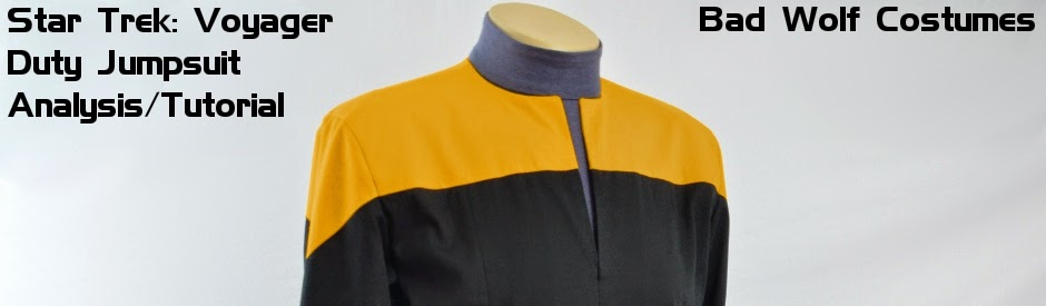 Star Trek: VOY Duty Jumpsuit Analysis/Tutorial