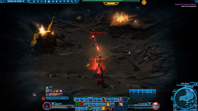 Star Wars The old republic Knights of the Fallen Empire, Chapter II dream battle skytroopers