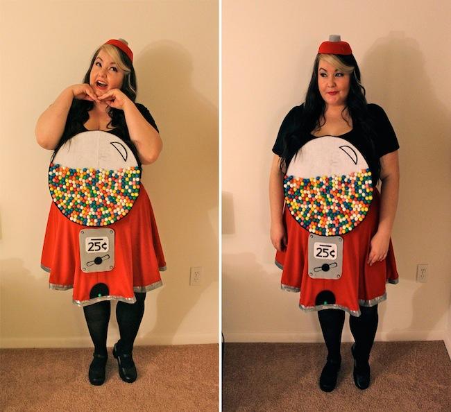 gumball machine costume for