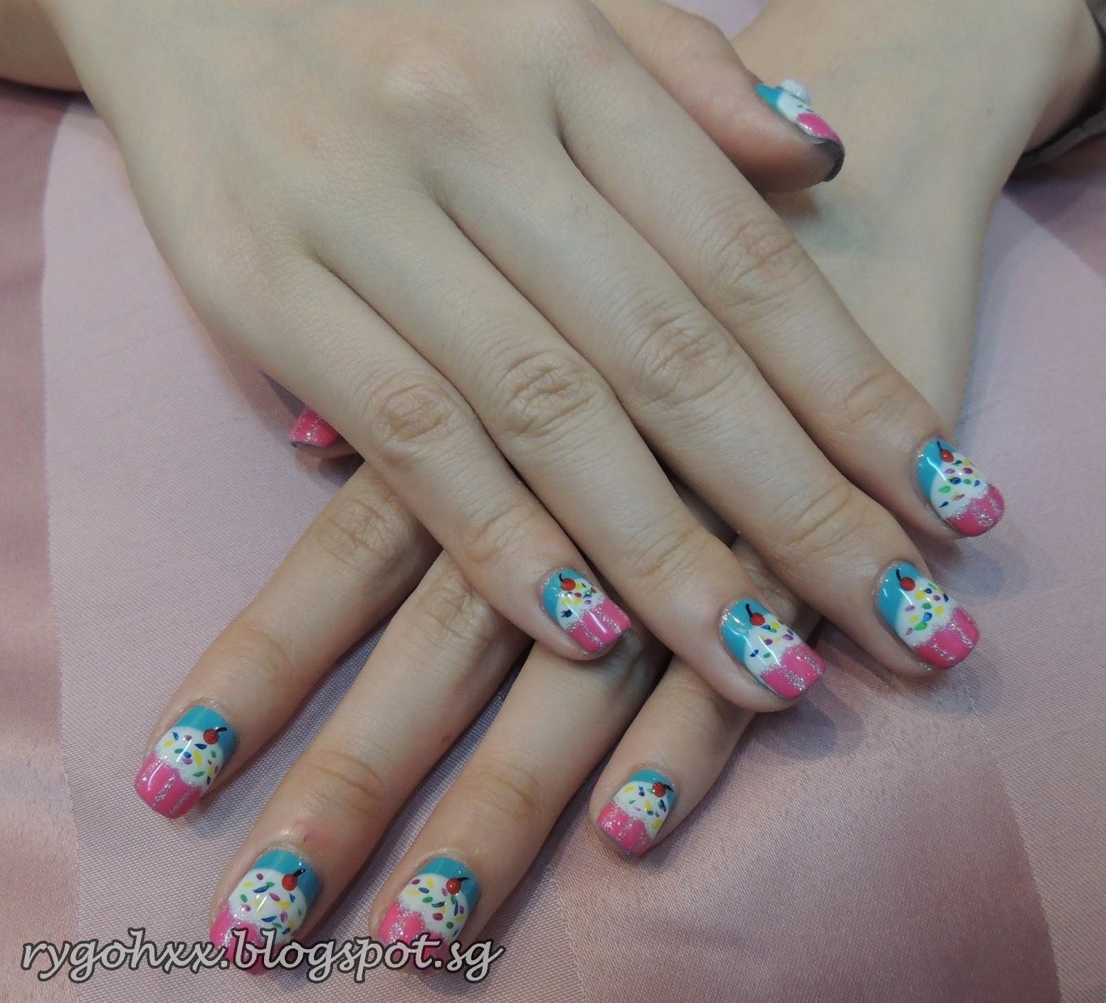 Cupcake Nails: Cupcake Nails At My Nail Place