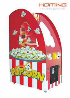 Popcorn  redemption game machine,redemption game machine,game equipment