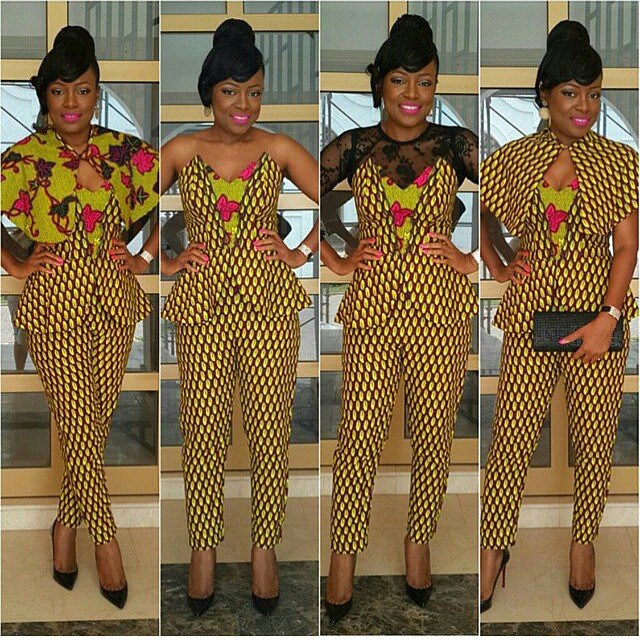 Stylish Ankara Styles For African Ladies 2015 Design