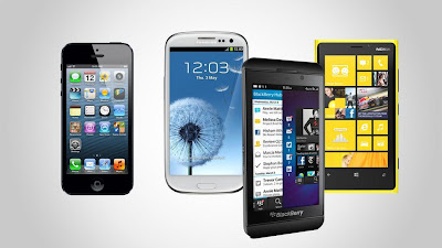 Nokia Lumia, Samsung Galaxy Note, iPhone