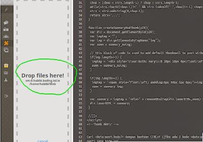 Cara Upload Drag and Drop File di Ubuntu