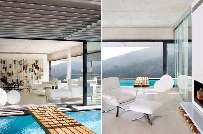 Casa de dise o minimalista y concepto abierto design for Casa minimalista concepto