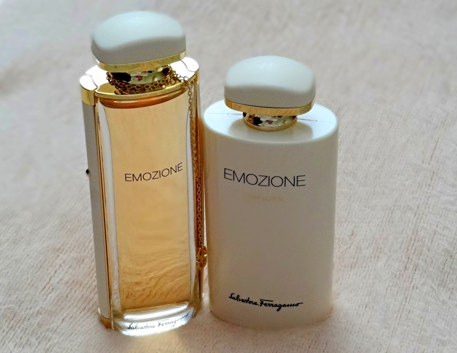 Salvatore Ferragamo Emozione Eau de Parfum and Body Lotion