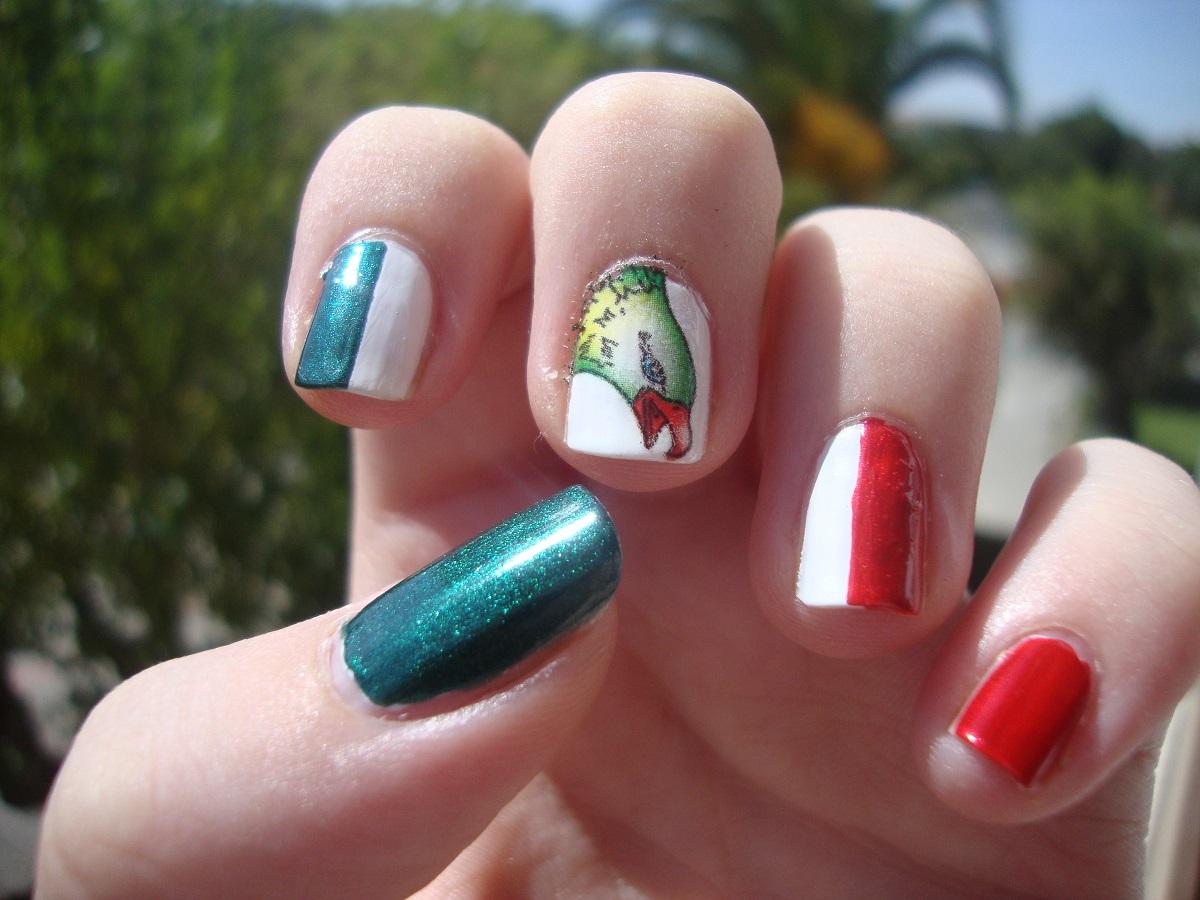 Cute Manicure: 15 Septiembre, día de la independencia de Mexico