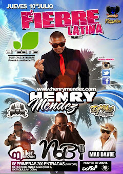 Henry Mendez Visita Tenerife en Julio