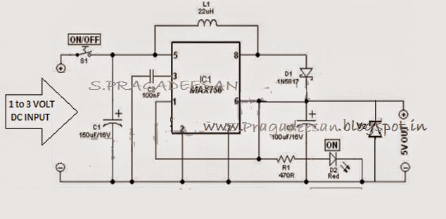 max 756 amplifier 5v