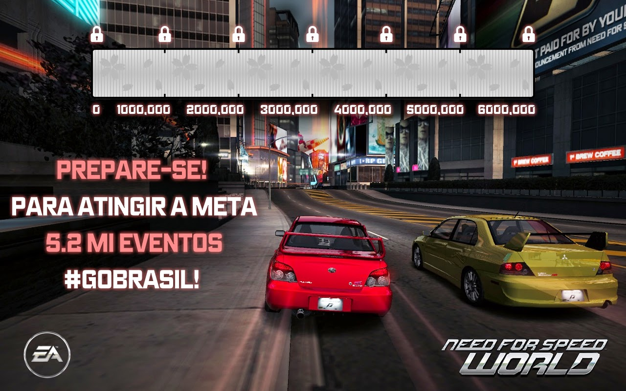 NFS World - Cherry Blossom Challenge BR