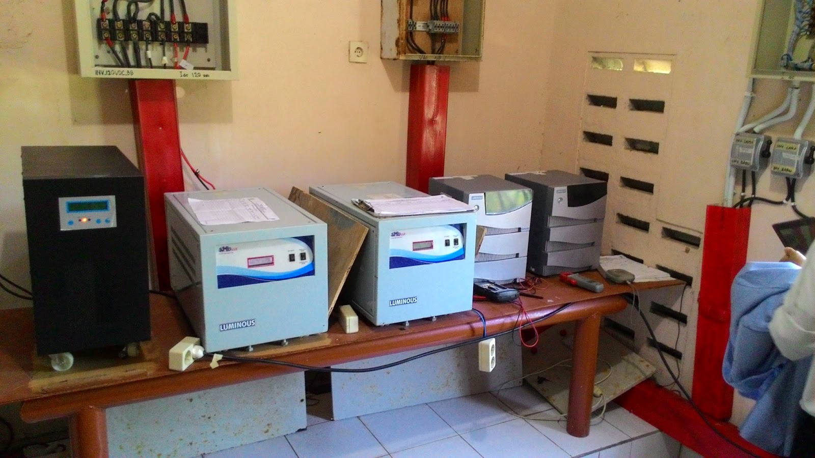 Inverter room at PLTH Pandansimo Kab. Bantul Indonesia | Anggitabay