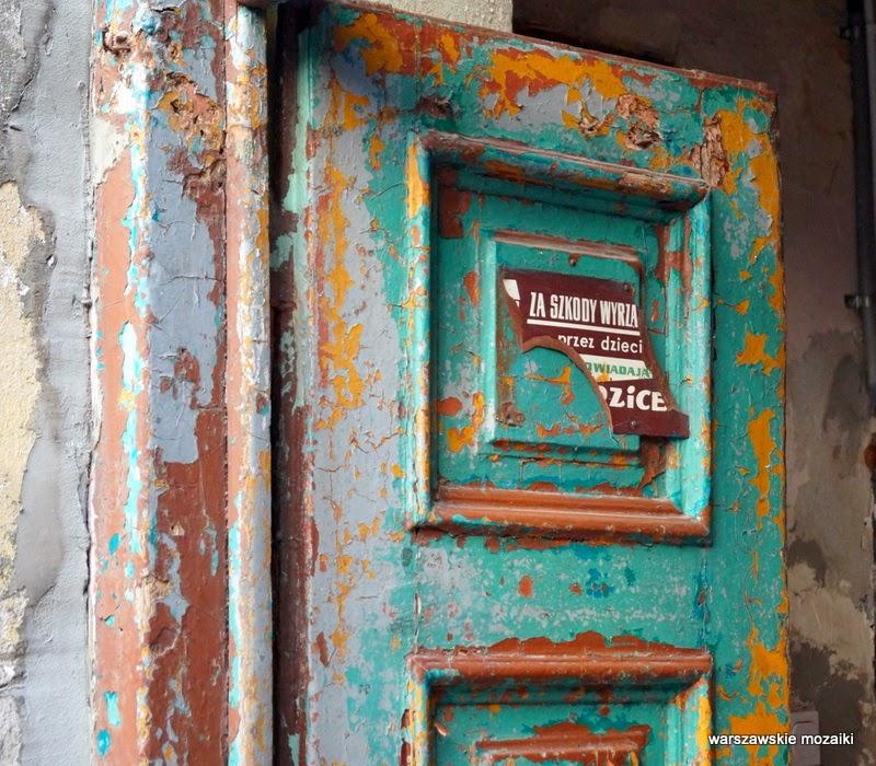 Warszawa Praga Północ Samuel Bergson Praski Dom Towarowy drzwi