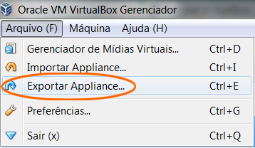 backup máquina virtual virtualbox 2013