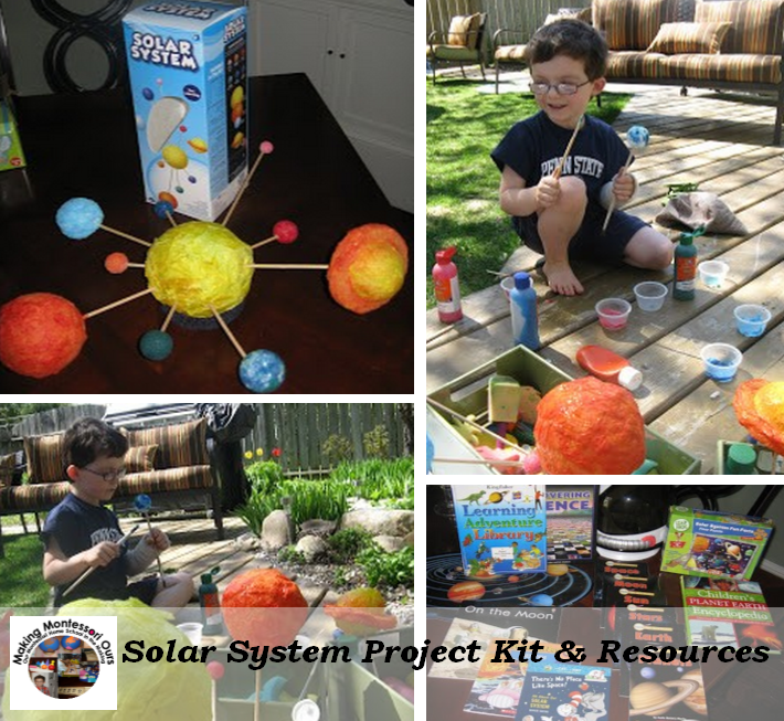 Projects on The Solar System For Middle School Solar System Project
