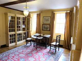 Dictionary Room, 2nd floor, Dr Johnson's House Museum Photo © Andrew Knowles