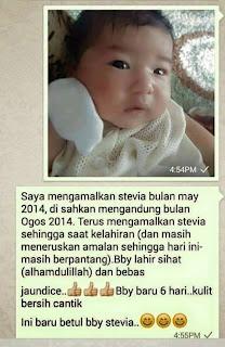 Testimoni lahir bayi sihat