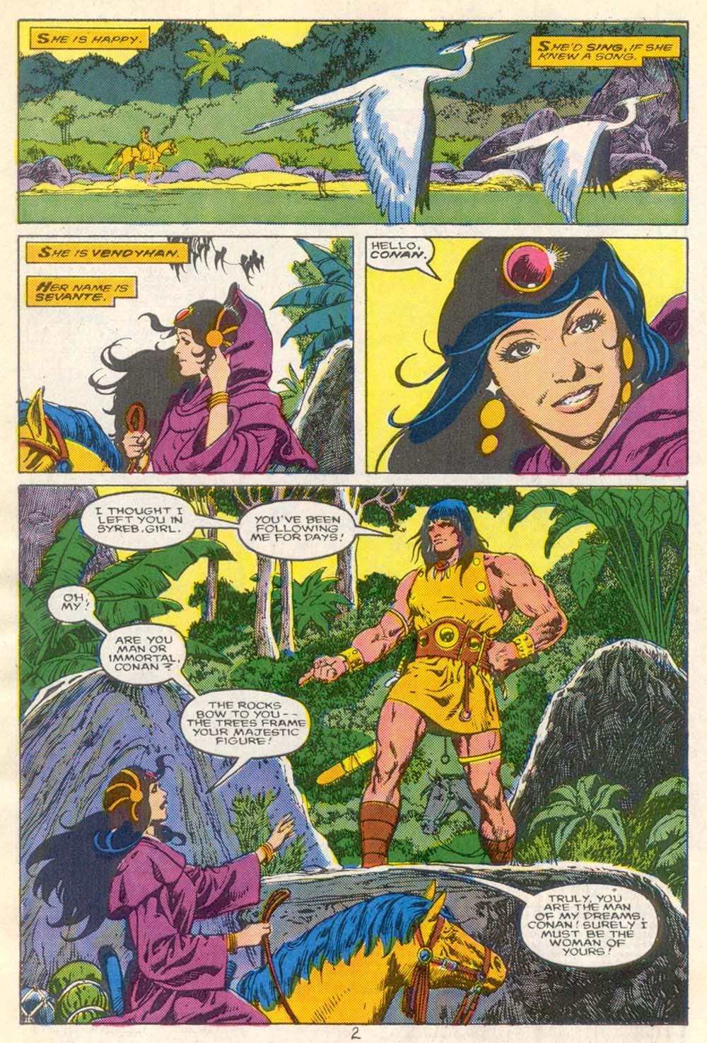 Conan the Barbarian (1970) Issue #210 #222 - English 3
