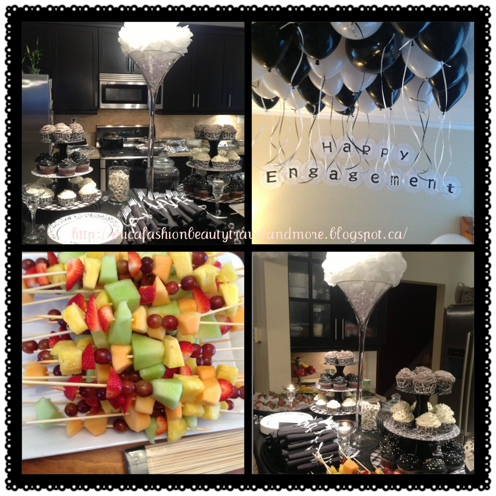 Diary of a Trendaholic : Hosted an engagement shower
