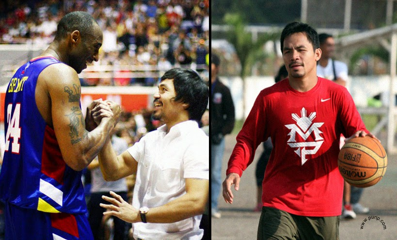 Manny Pacquiao go play Basketball on PBA