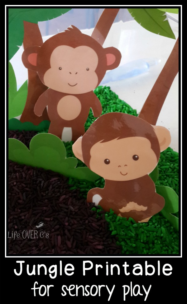 This free jungle printable is sure to make your children's imaginations run wild!