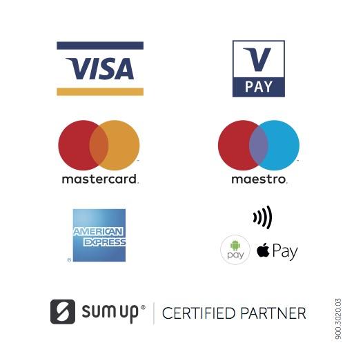 EC- und Kreditkarten werden akzeptiert.